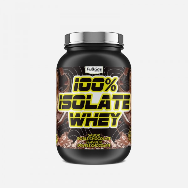 100% ISOLATE WHEY Doble Chocolate 1,8kg
