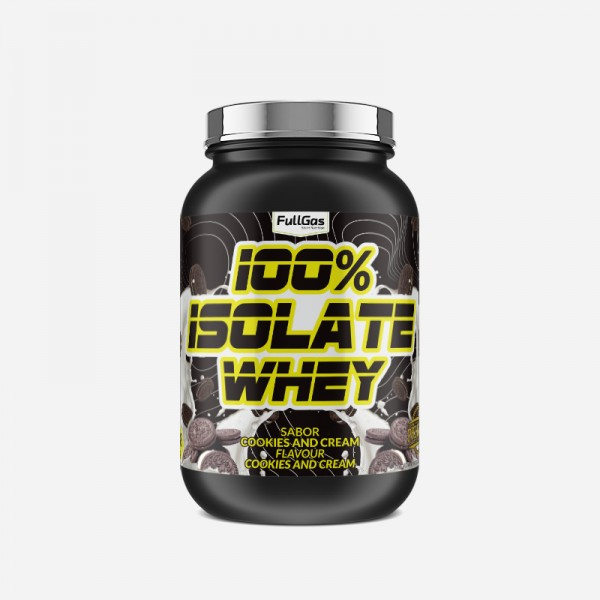 100% ISOLATE WHEY Cookies and Cream...