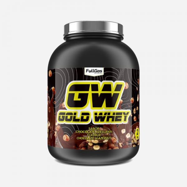 GOLD WHEY Chocolate-Avellana 2kg